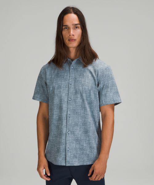 Airing Easy 男士短袖衬衫