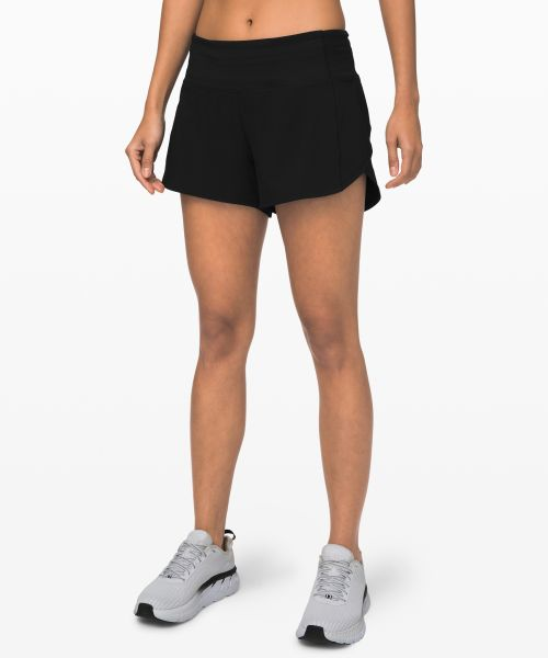Speed Up 女士运动中腰短裤 4