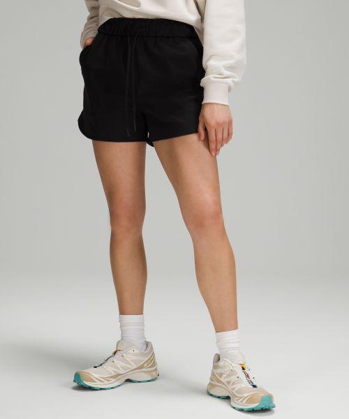 Stretch 女士高腰短裤 3.5