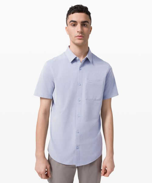 Commission 男士短袖衬衫