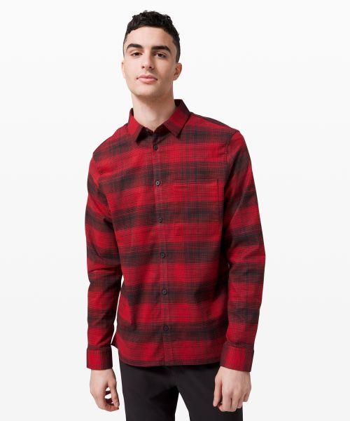Masons Peak 男士法兰绒衬衫