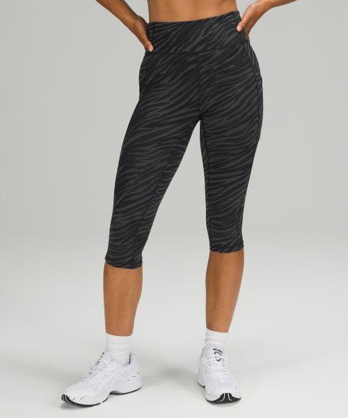 Invigorate 女士运动高腰中长裤 17