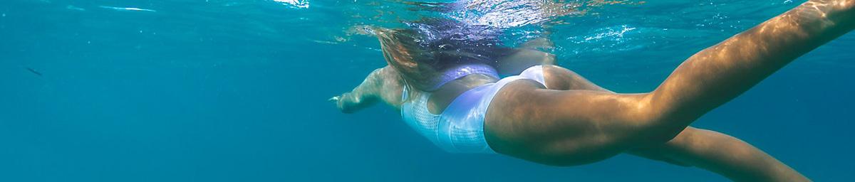 女士泳衣上装