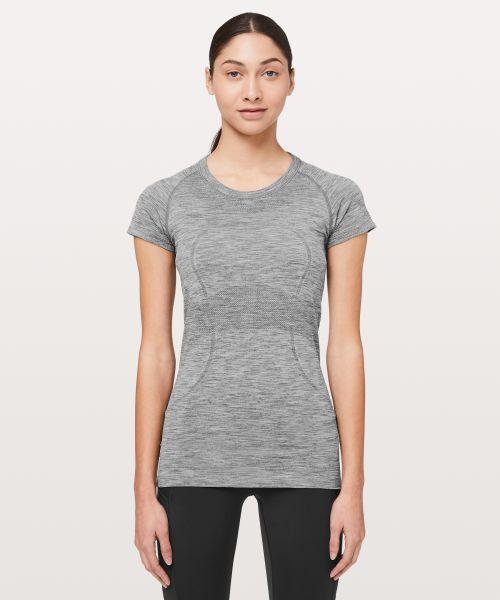 Swiftly Tech 女士短袖运动 T 恤*圆领