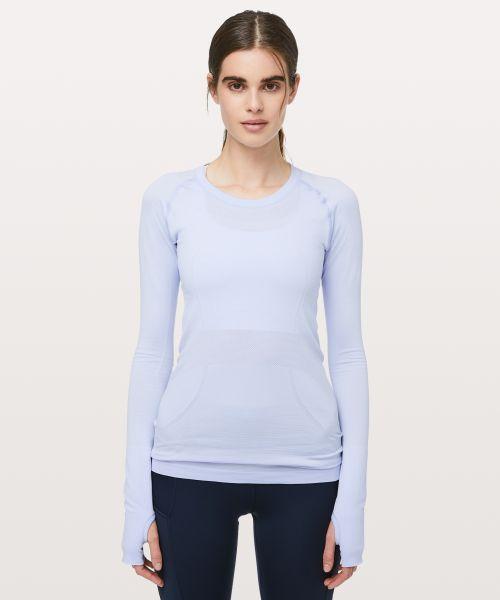 Swiftly Tech 女士运动长袖圆领 T 恤