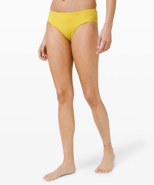 Calm Tides 女士中腰泳裤 *Med