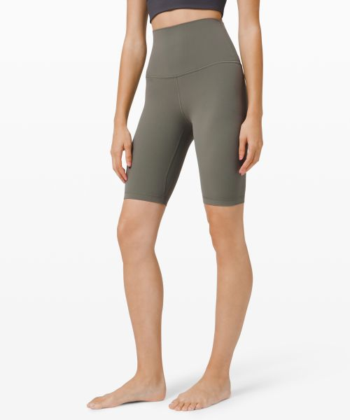 Align 女士运动超高腰紧身短裤 10
