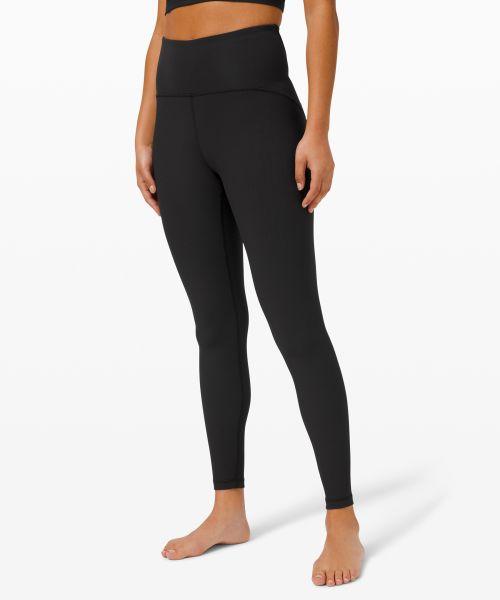 Ribbed Contoured 女士运动高腰紧身裤 28