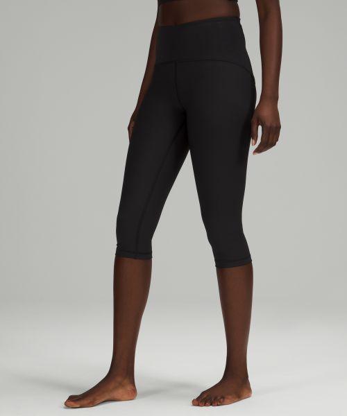 Ribbed Contoured 女士运动高腰中长裤 17