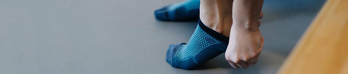 女士跑步袜子