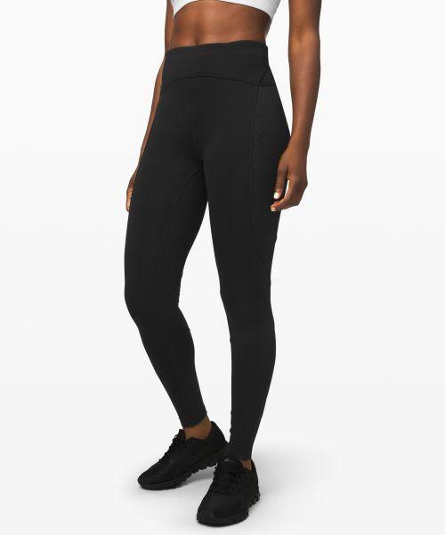 Cold Pacer 女士运动高腰紧身裤 28