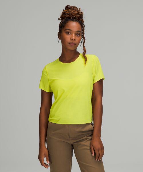 lab 女士运动短袖 T 恤 *短款