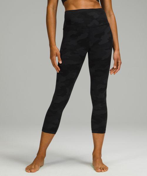 Align 女士运动高腰中长裤 23