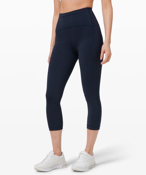 Swift Speed 女士运动高腰中长紧身裤 21
