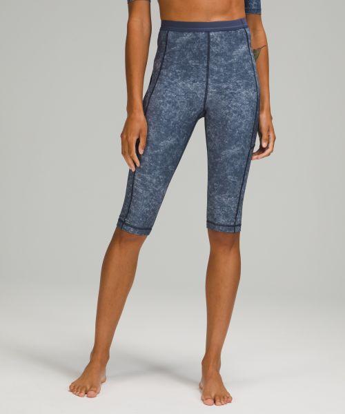 女士水上运动高腰中长裤