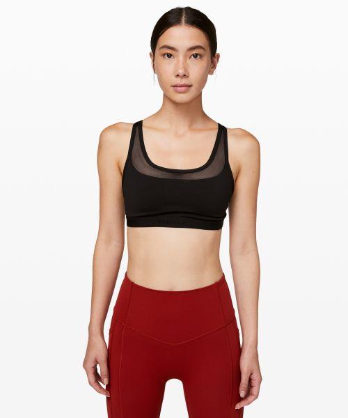 Energy 女士运动内衣 *网面拼接款