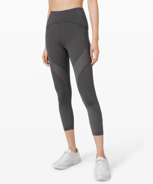 Uncovered Strength 女士运动高腰中长裤 23