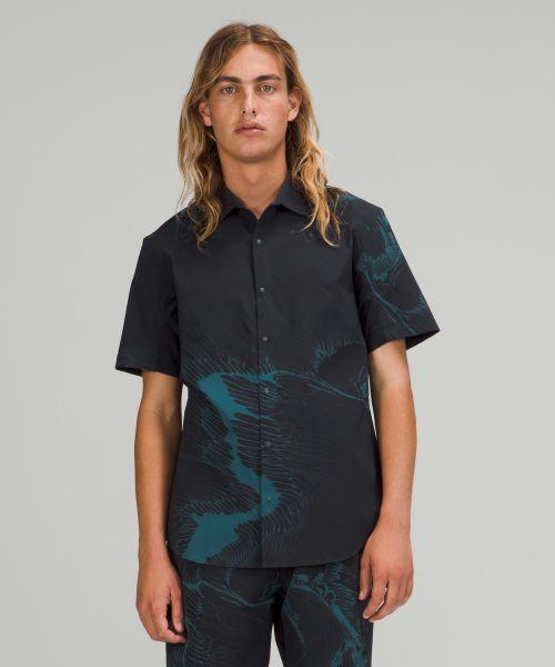 Moon Drift 男士短袖衬衫